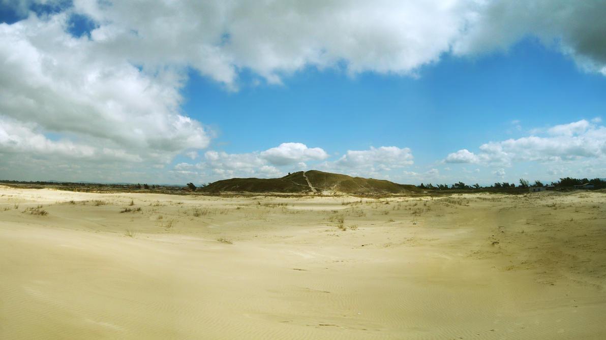 Sambaqui Dunes - Camacho, SC, Brazil (Panorama 3) by Ishtaryu