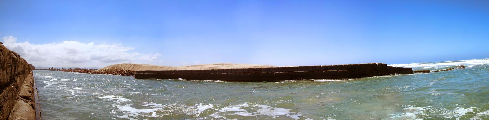 Sambaqui Dunes - Camacho, SC, Brazil (Panorama 4) by Ishtaryu
