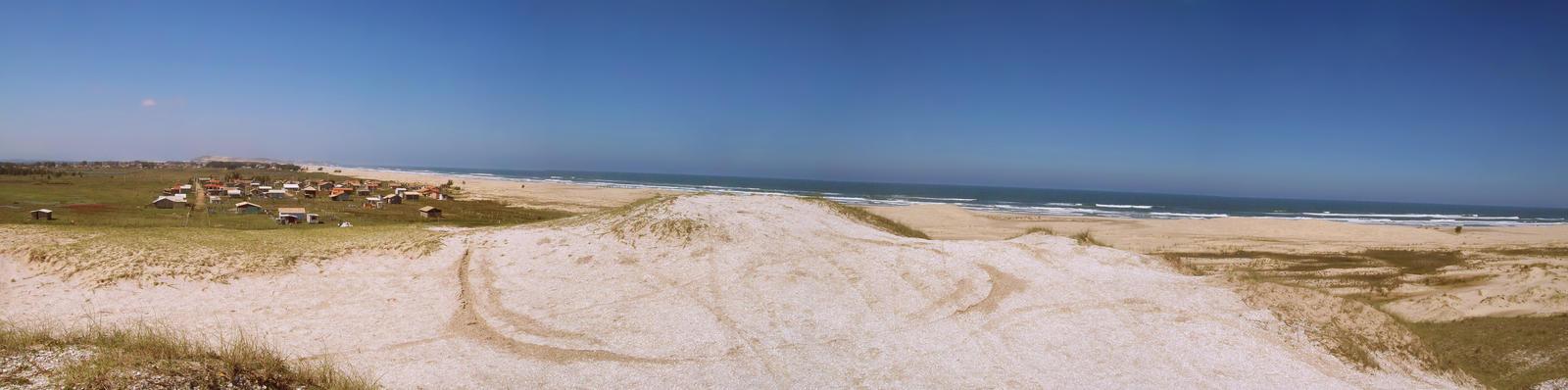 Sambaqui Dunes - Camacho, SC, Brazil (Panorama 5) by Ishtaryu
