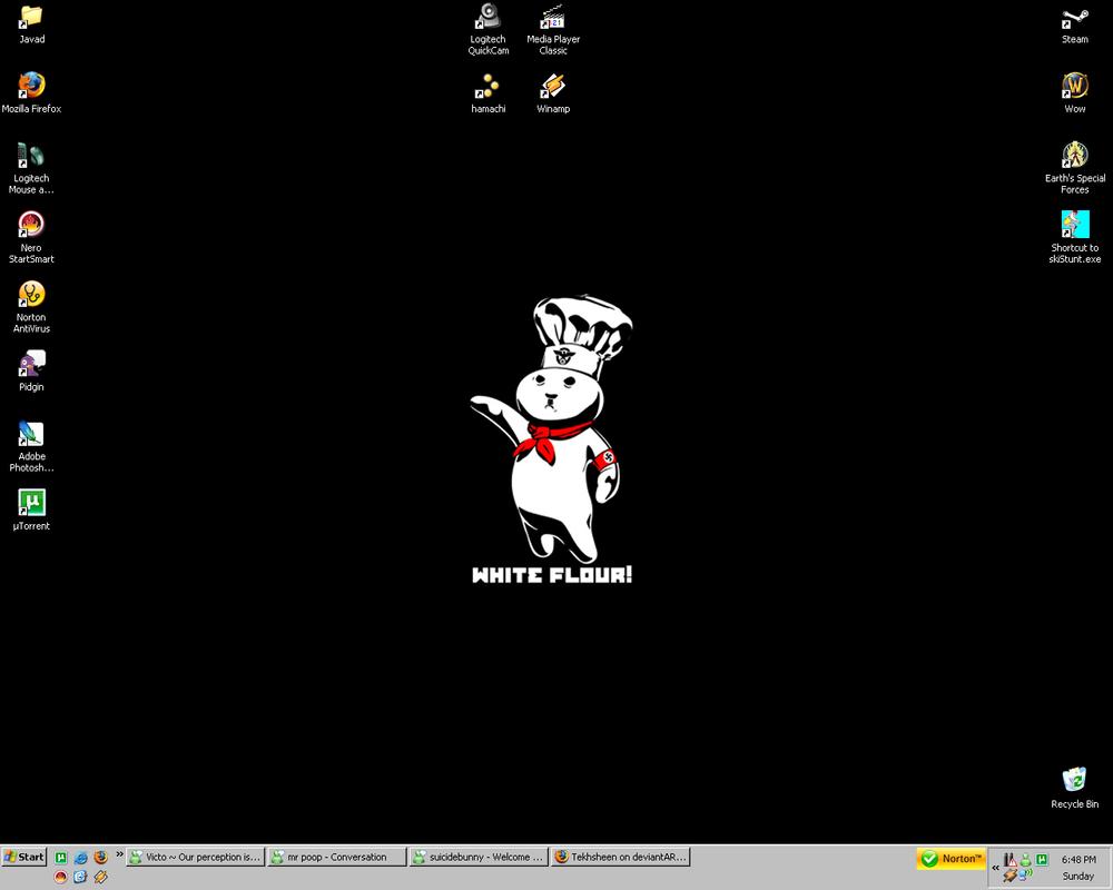 Yet another desktop by Tekhsheen
