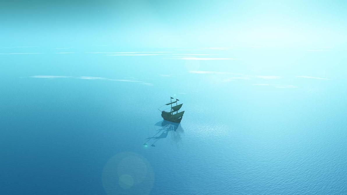 Blue way by Hythamkalefe