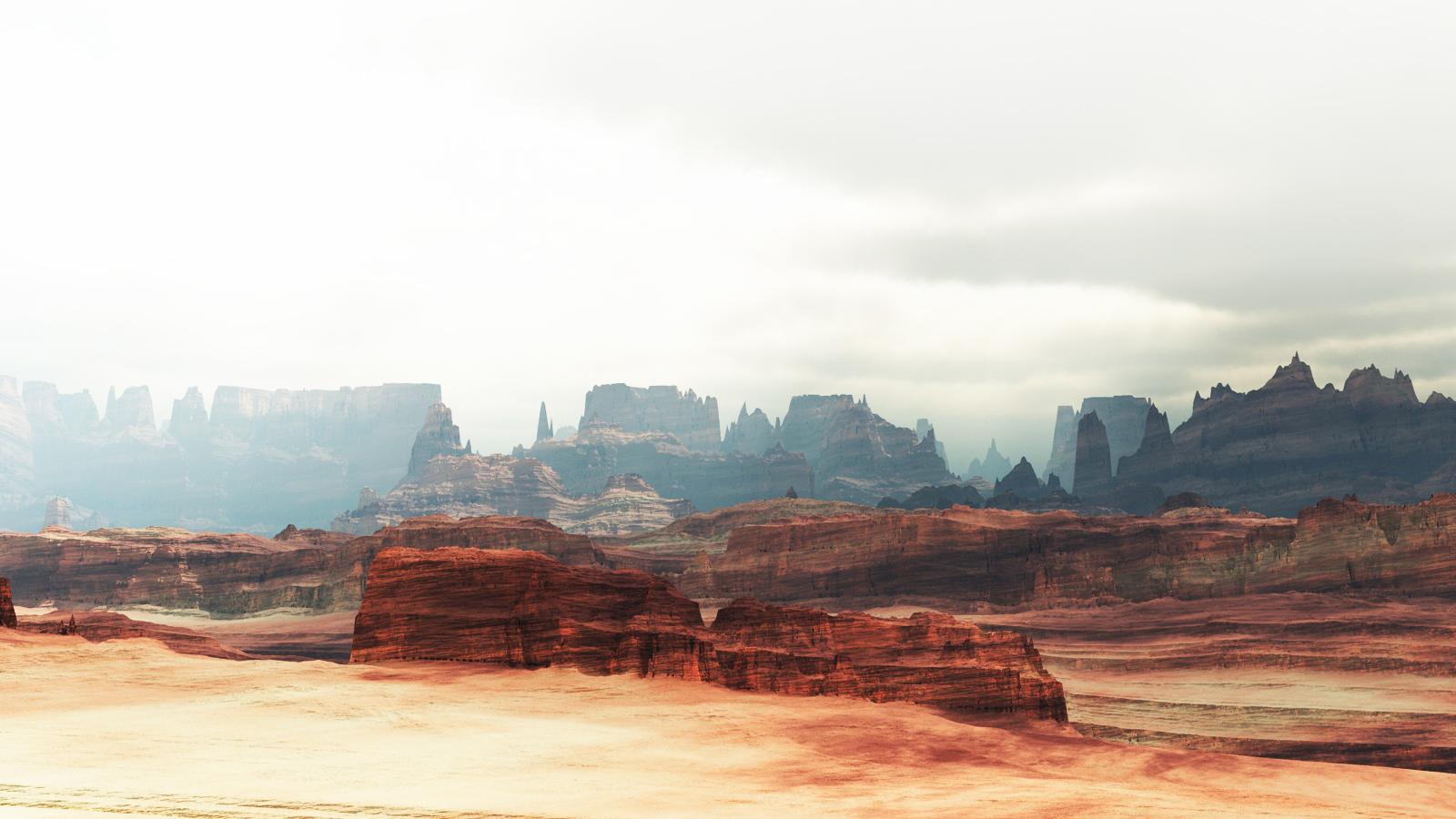 Mars by Hythamkalefe