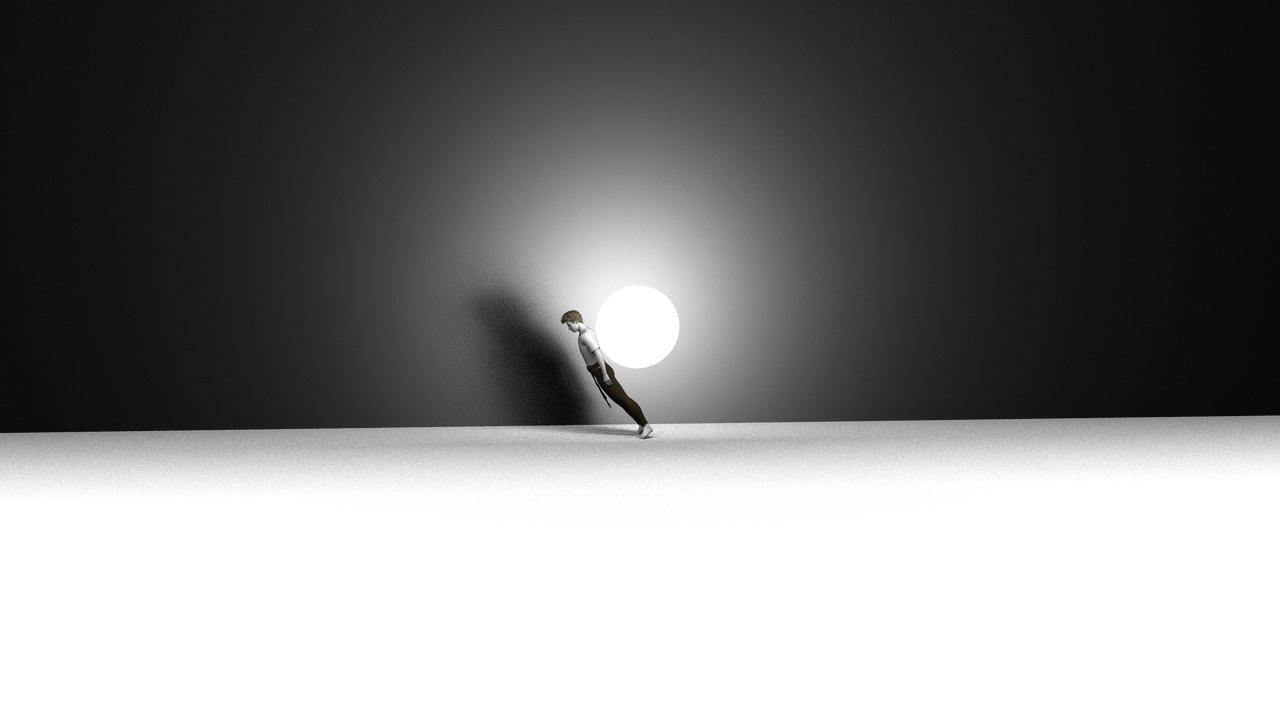 Moon Walk by Hythamkalefe
