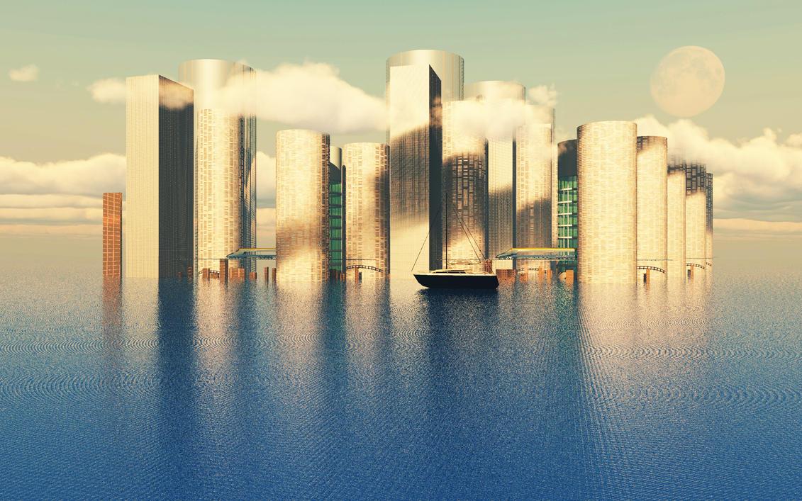 City by Hythamkalefe