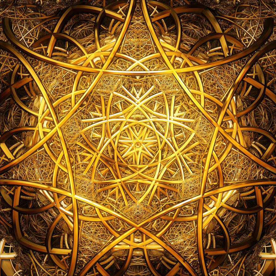 Golden Threads by Hythamkalefe
