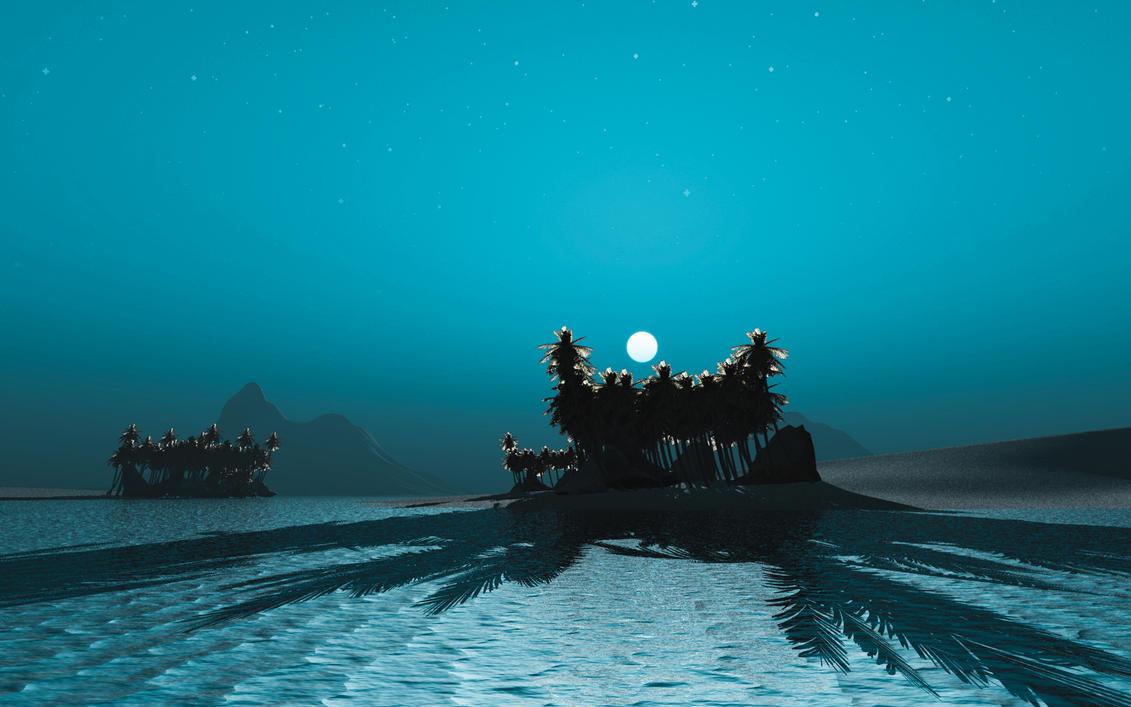 Night by Hythamkalefe