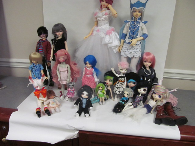 Second bjd meet up! c: by Luna-sea13