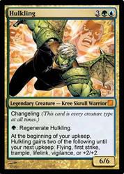 Hulkling MTG by MutantMarksman