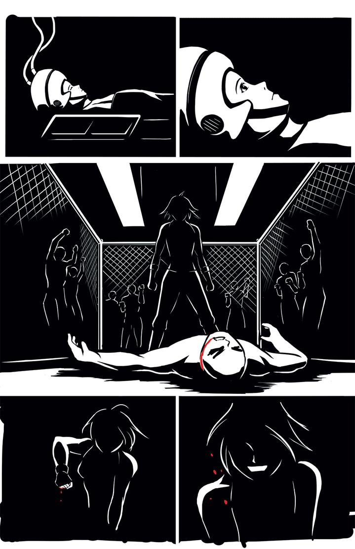 Defiance: Callista Page 4 Inks by bokchoi-al