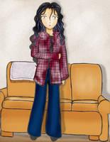 Darlene - Roseanne by KittenKagome