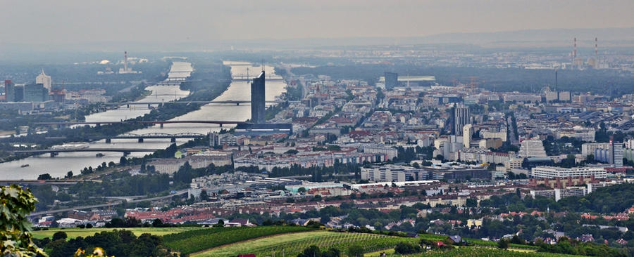 Panorama of Vienna by loker90