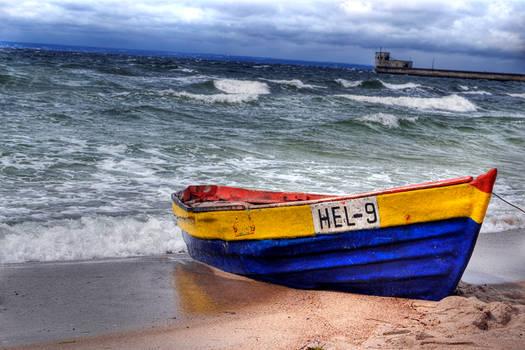 Polish sea, Baltic - HEL