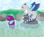 Mintpaw meets Riverpaw by MintFireTheCat