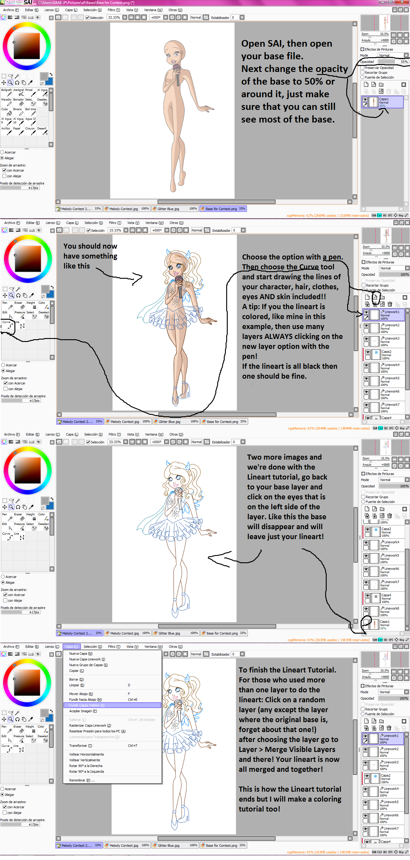 how to use paint tools sai