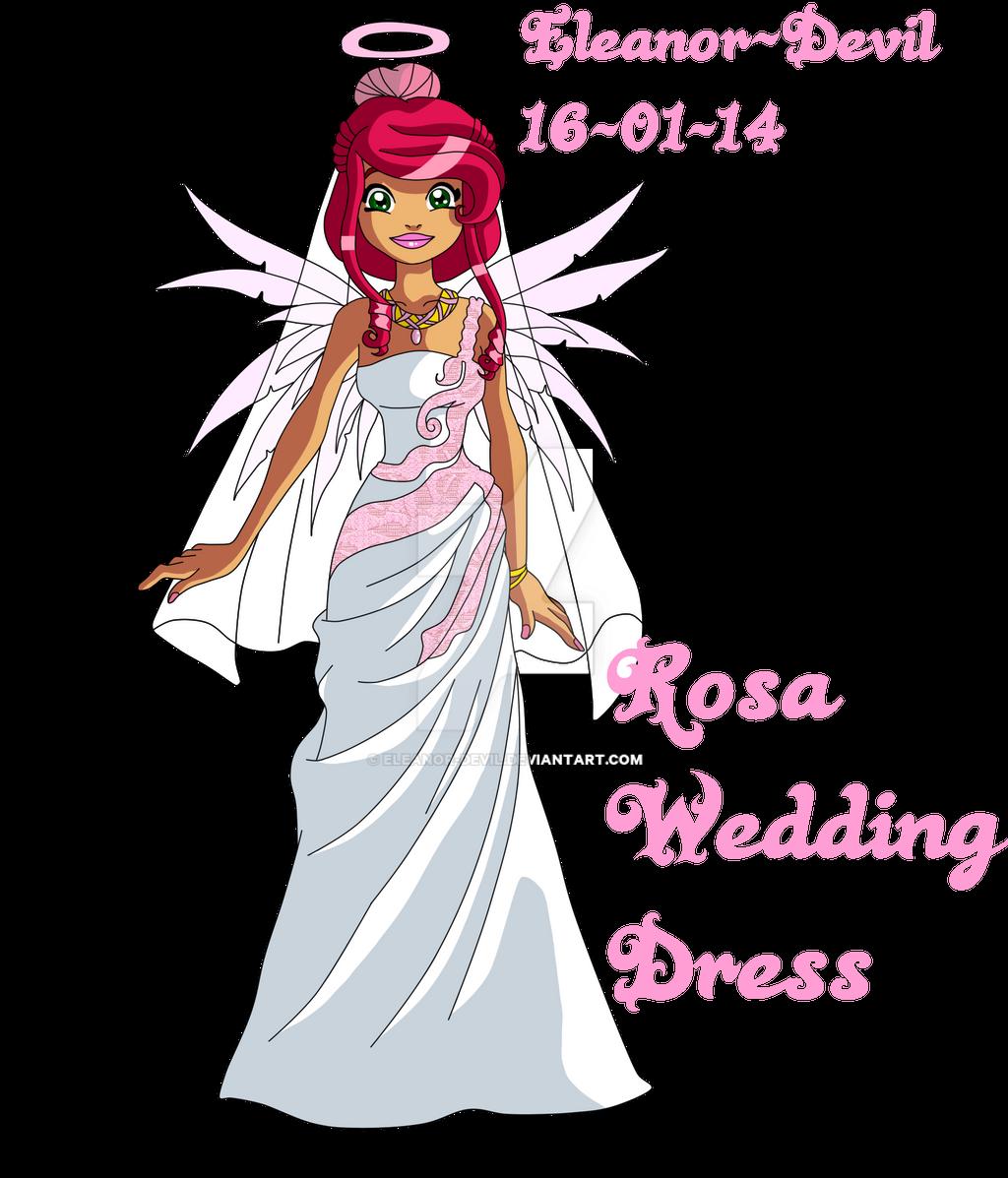 Rosa - Wedding by Eleanor-Devil