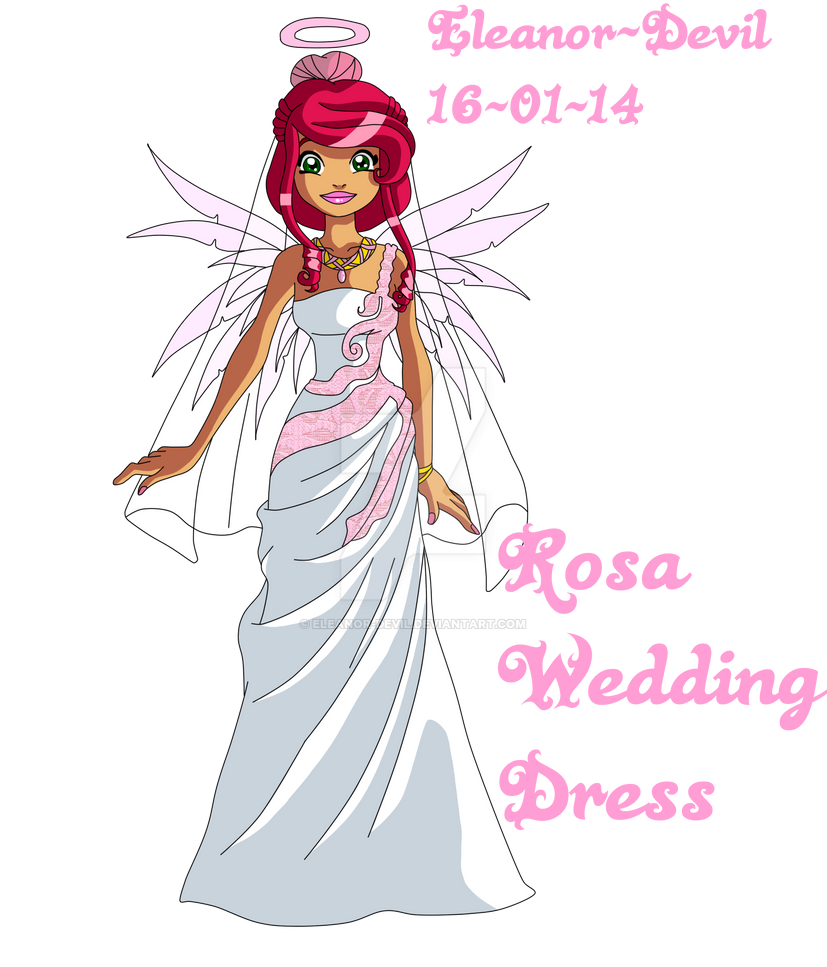 Rosa - Wedding by Eleanor-Devil
