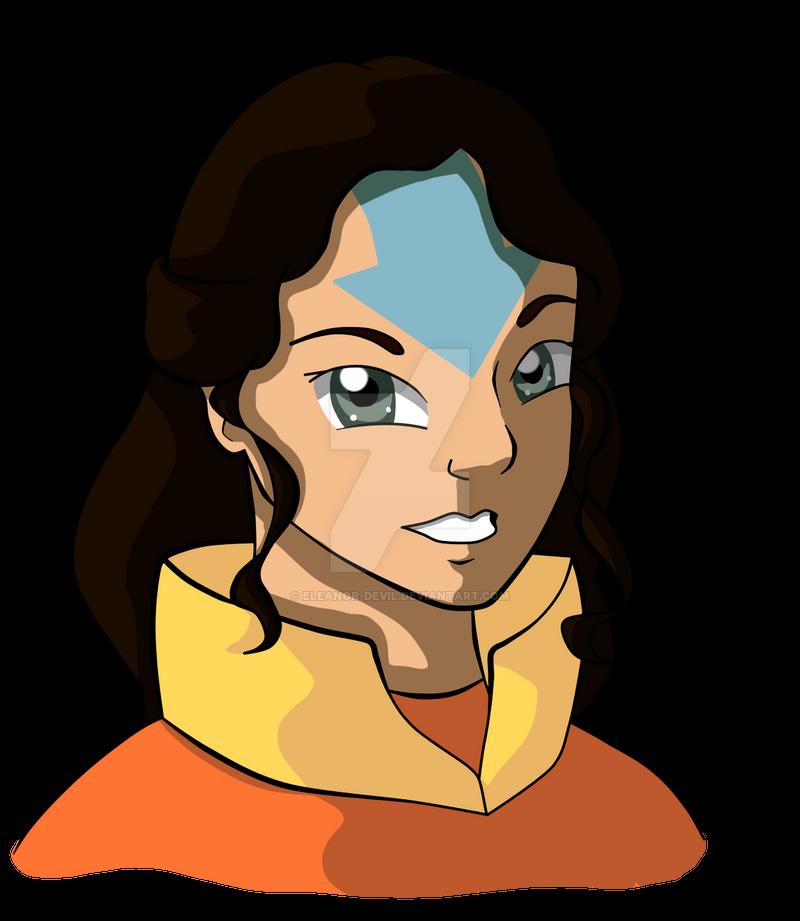 Avatar Aang With Hair: ATLA Next Gen: Lady Nima By Eleanor-Devil On DeviantArt