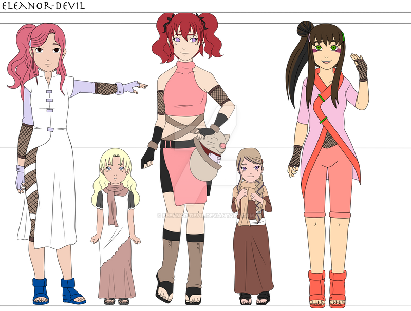 Naruto next generation sabaku girls by eleanor devil on deviantart