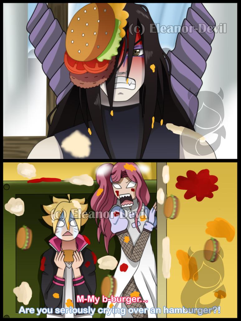 [OC Tournament] - Hamburger Fight! by Eleanor-Devil
