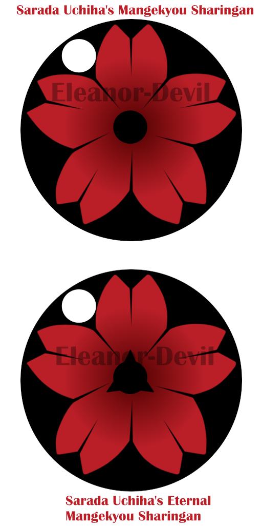 Boruto Happuden Sarada Uchiha Mangekyou By Eleanor Devil On Deviantart