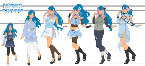 [CM] | Mizuki Tsukino Wardrobe by Eleanor-Devil