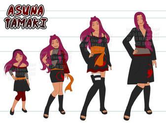 [CM] | Asuna Tamaki Wardrobe by Eleanor-Devil