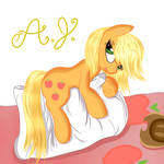 Applejack resting
