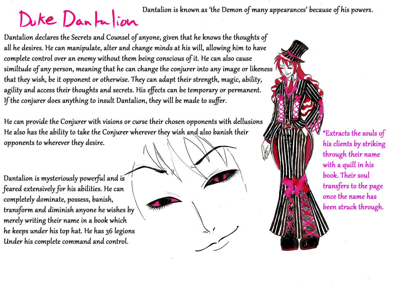 Sinderlocke explore sinderlocke on deviantart cartoonaholic 4 11 dantalion demon of many faces by cartoonaholic biocorpaavc Images