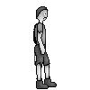 Sad Victorian London boy sprite by catapurr