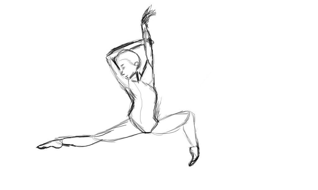 Quick Gesture Sketch by catapurr