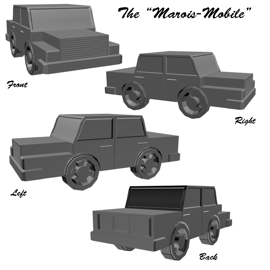 The Marois-Mobile by catapurr