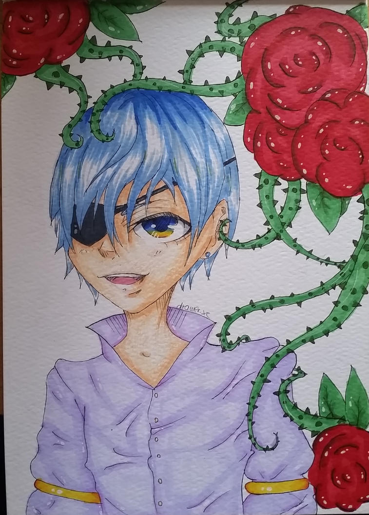 Ciel Phantomhive by drawerxe