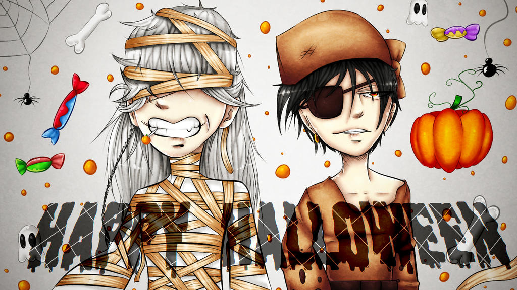 Happy Halloween! by drawerxe