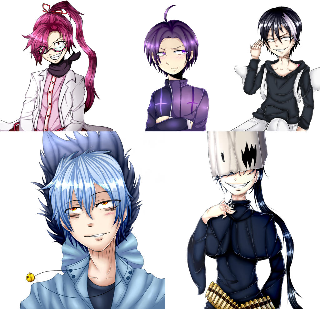 Some Servamp drawings by drawerxe