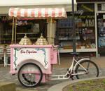 ice cart bike - Fahrrad Eiswagen 01