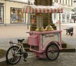 ice cart bike - Fahrrad Eiswagen 02