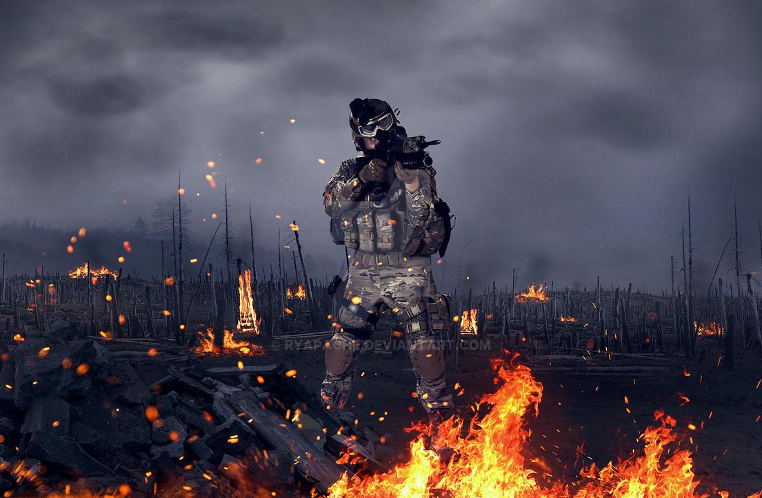 Battlefield by ryApache