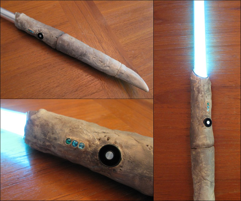 how to get a white lightsaber crystal