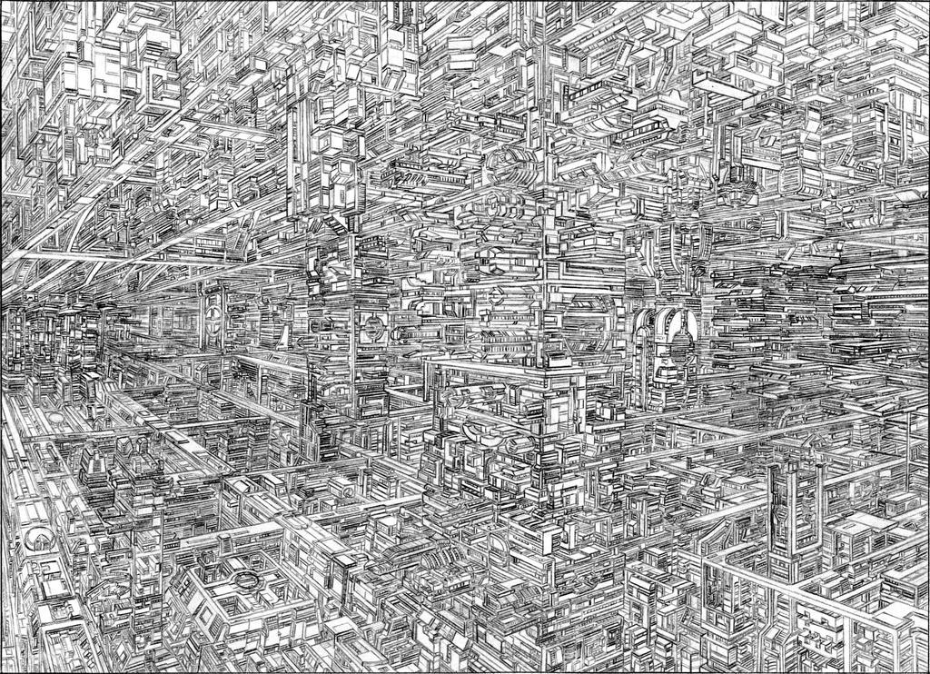 UnderGround Futuristic City by Rashid187