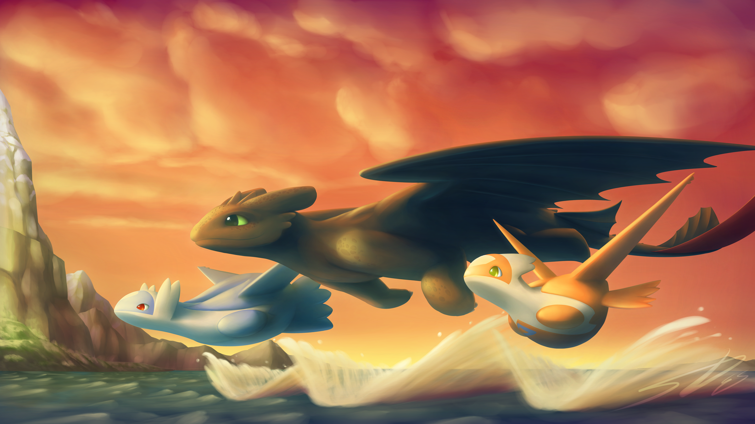 HTTYD Pokemon Crossover: Commie for TheModerator