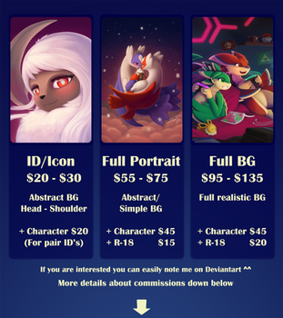 Commissions info *FULL!* by streetdragon95