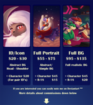 Commissions info *OPEN!! 48 hour no slot limit* by streetdragon95