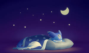 Mika: Snoozing under the stars