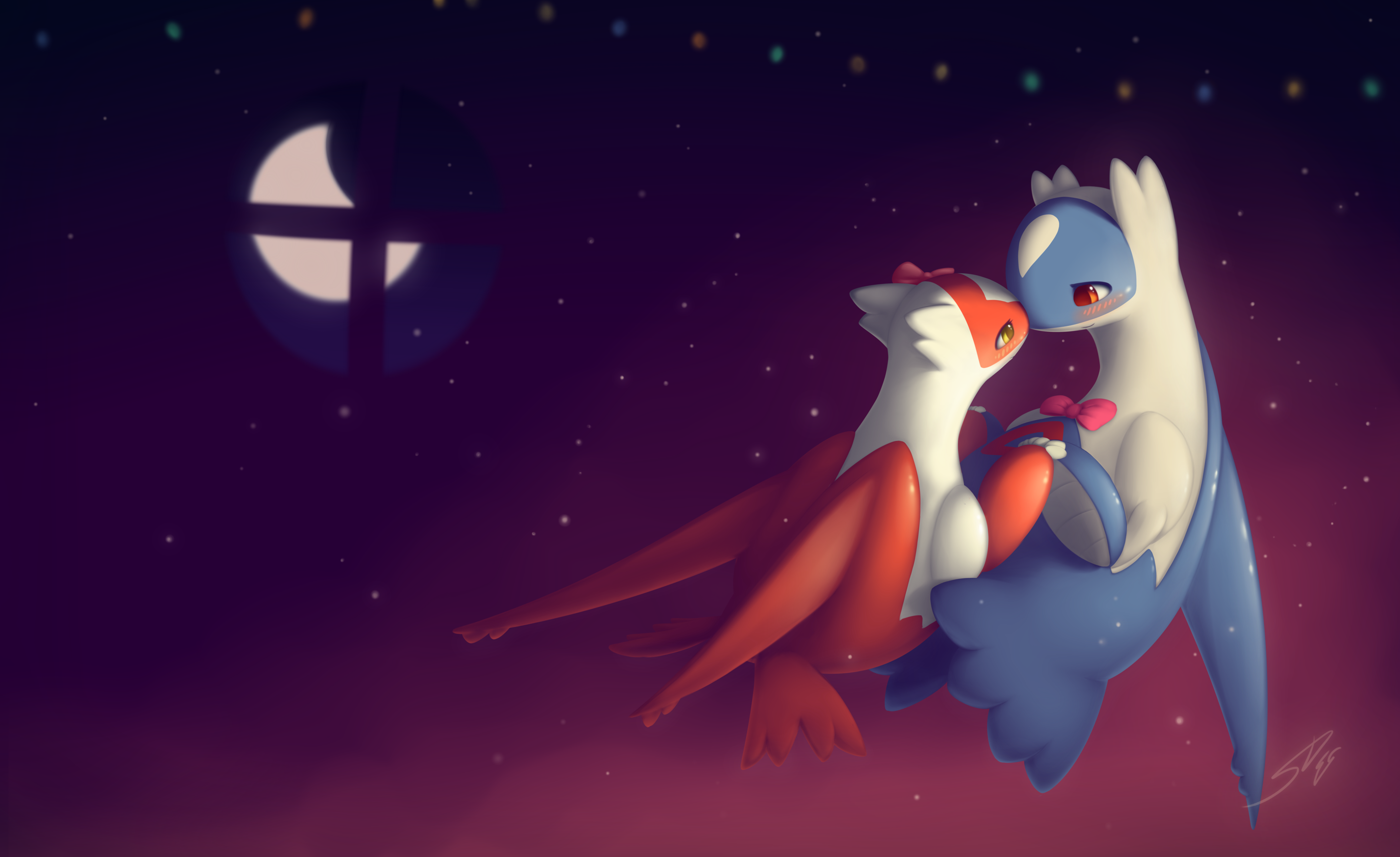 latios and latias kiss - photo #17