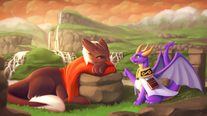 A Dragon's Lecture: Commission for Ronixns