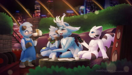 Cafe Night: Commission for Tarukorin