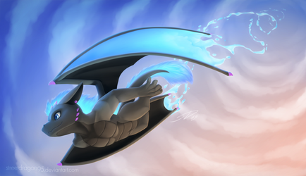 Vergo's Aerial Dive: Commission for YamadoruX