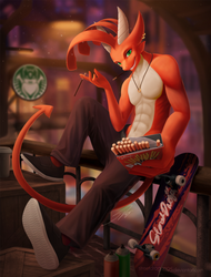 Street Dragon's Pocky