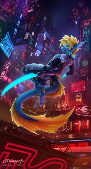City Night Lights Commission for Ladon