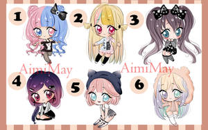 CLOSED 5 Auction Adopt batch Special 1$ by AimiMay